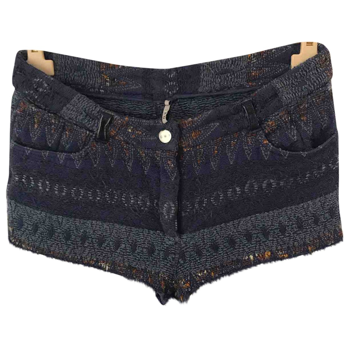 Iro \N Shorts in  Blau Baumwolle