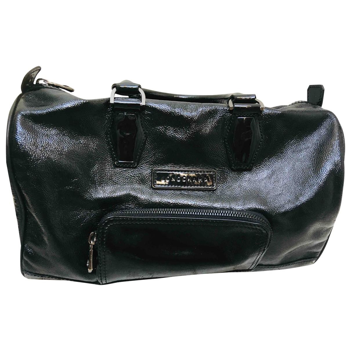 Longchamp Kate Moss Black Patent leather handbag for Women \N