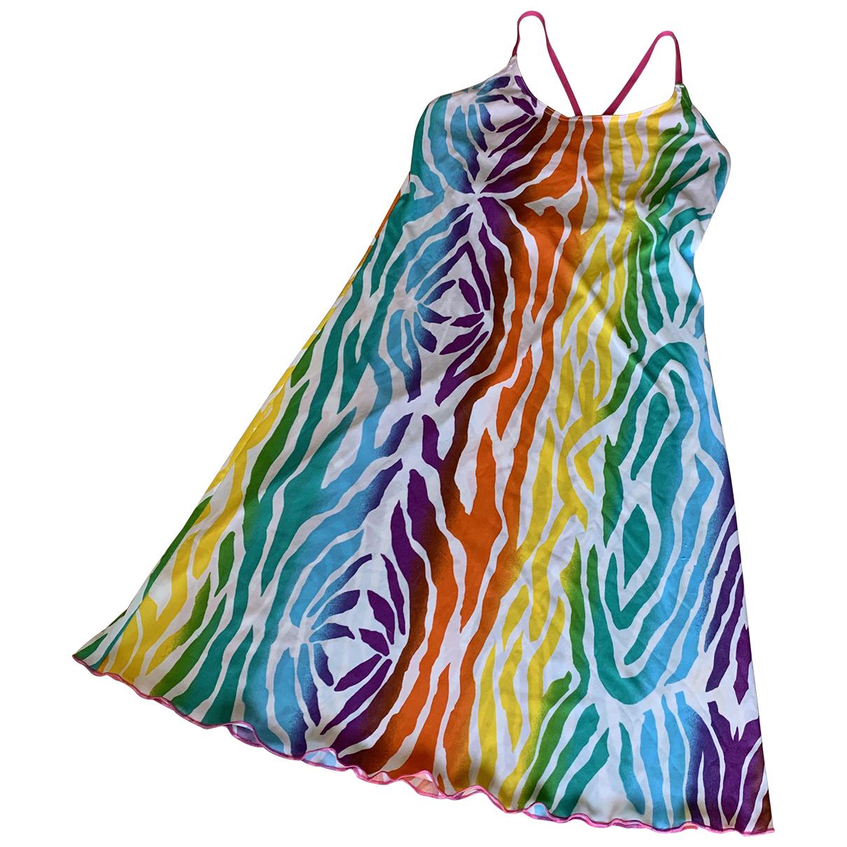 American Vintage \N Kleid in  Bunt Baumwolle - Elasthan
