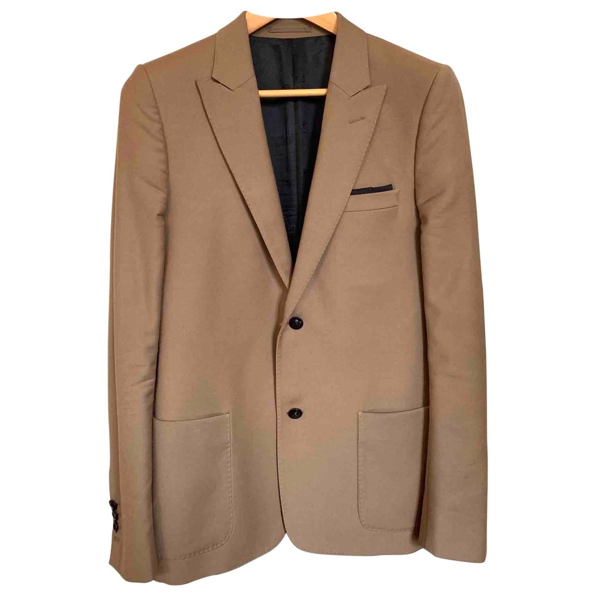 The Kooples \N Camel Wool jacket  for Men 48 FR