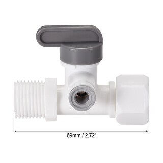 Angle Stop Adapter Valve 1/4