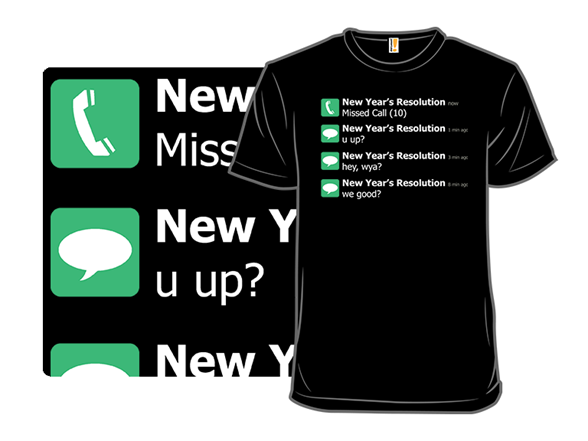 Rejected Resolution T Shirt