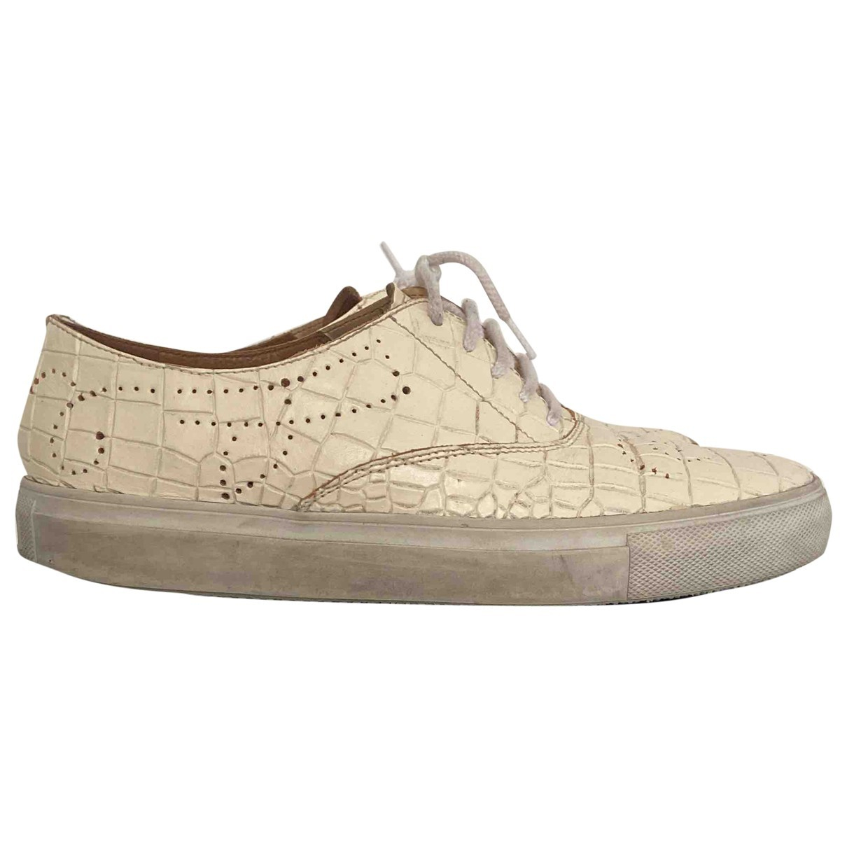 Fratelli Rossetti \N White Leather Trainers for Women 39 EU