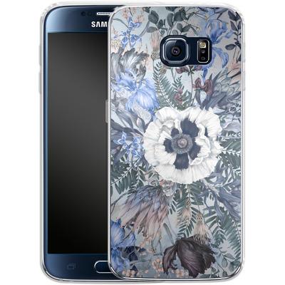 Samsung Galaxy S6 Silikon Handyhuelle - Frost von Stephanie Breeze