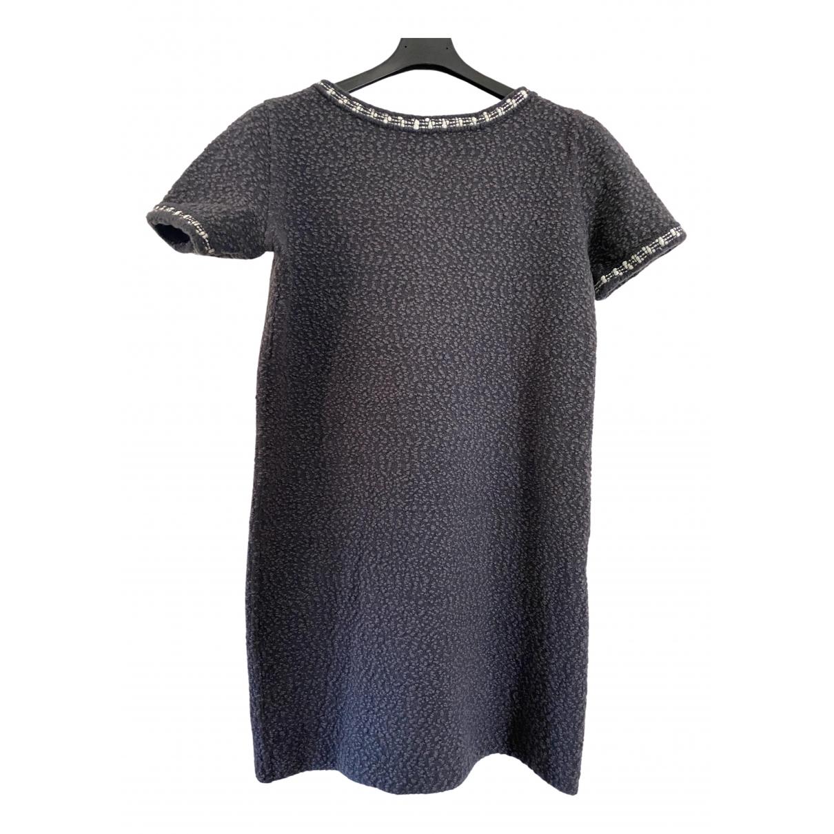 Bruno Manetti - Robe   pour femme en laine - gris