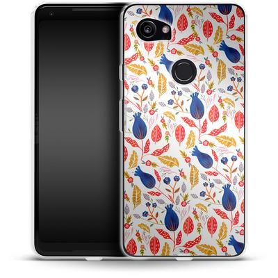 Google Pixel 2 XL Silikon Handyhuelle - Seasons Change von Iisa Monttinen