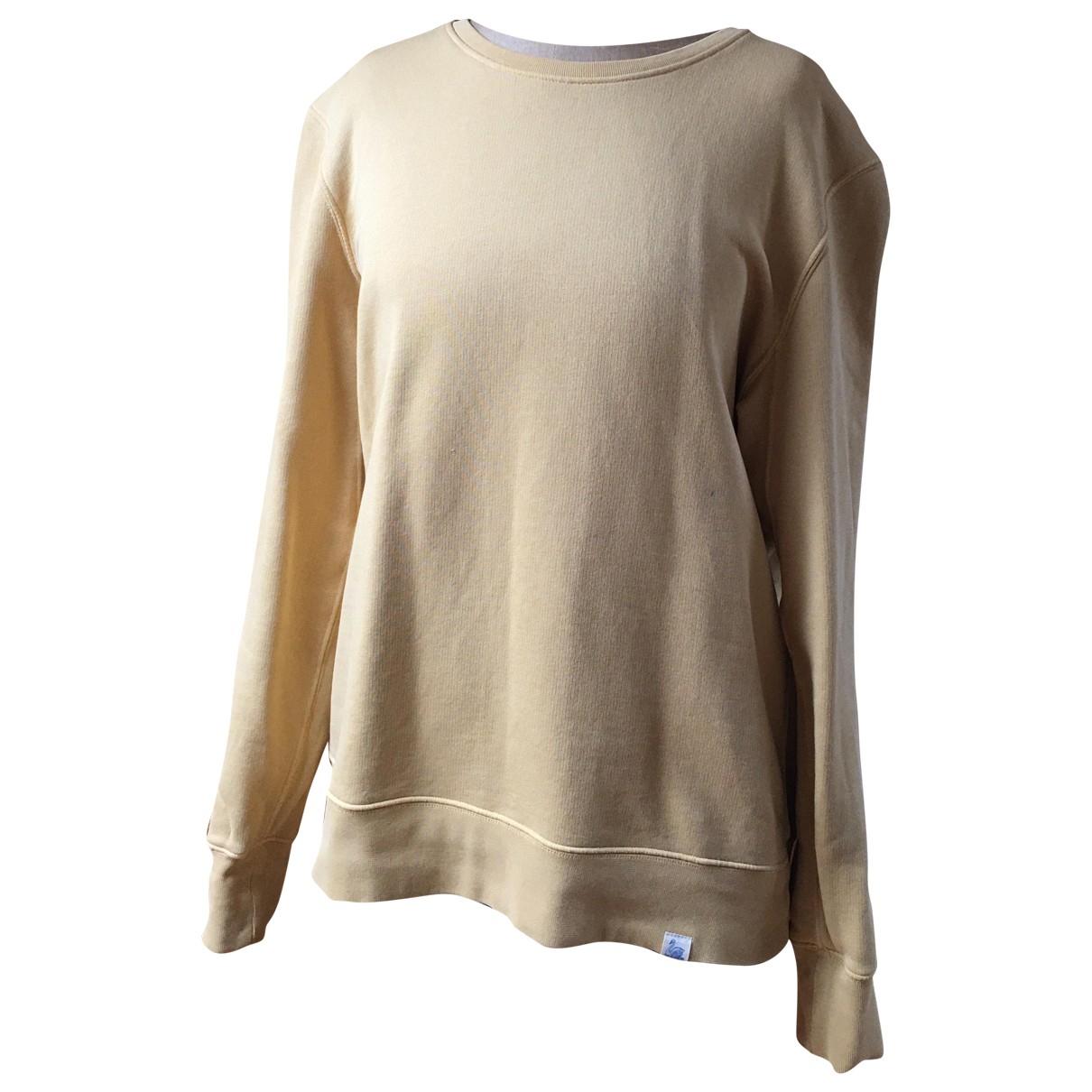 Merz B Schwanen \N Pullover.Westen.Sweatshirts  in  Gelb Baumwolle