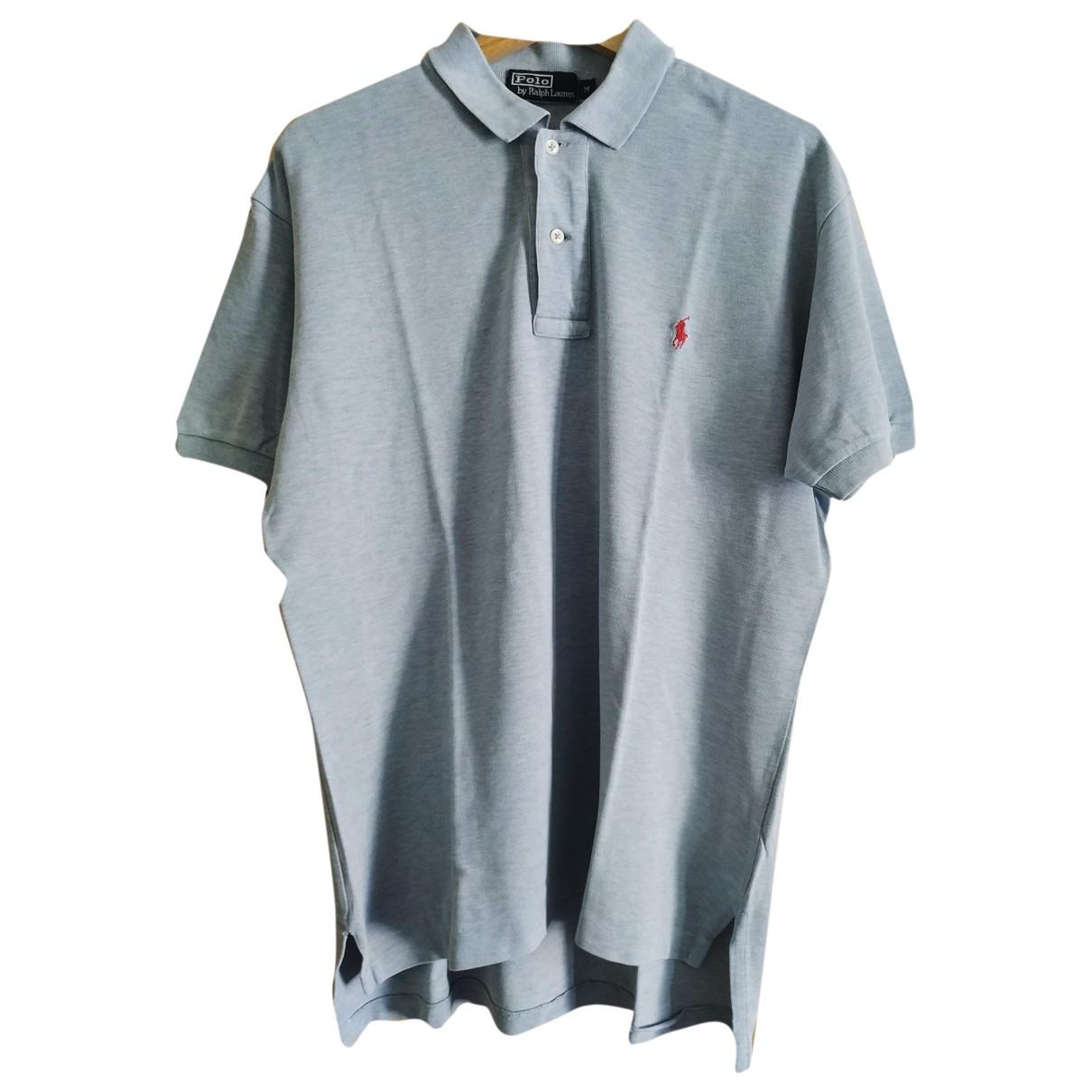 Polo Ralph Lauren Polo classique manches courtes Poloshirts in  Grau Baumwolle