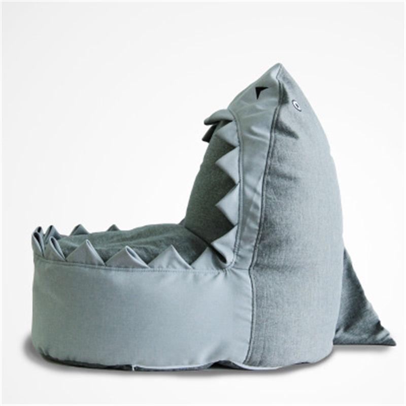 Shark's Beak Cartoon Funny Crocodile Shape Soft Kids Sofa /Cushion