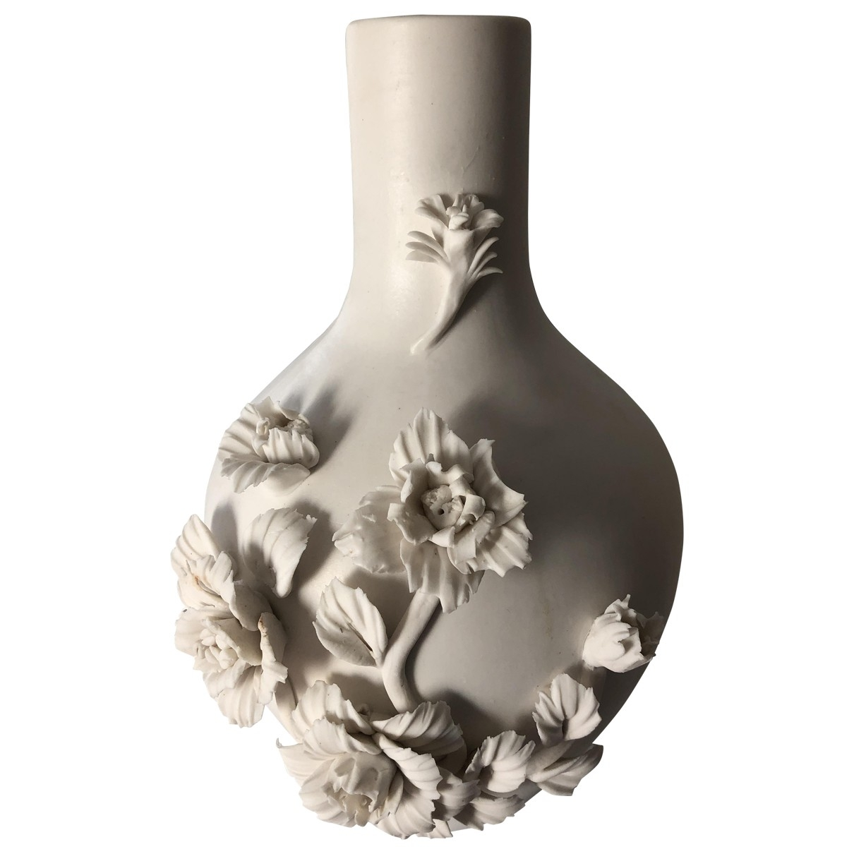 Non Signe / Unsigned \N Accessoires und Dekoration in  Weiss Keramik