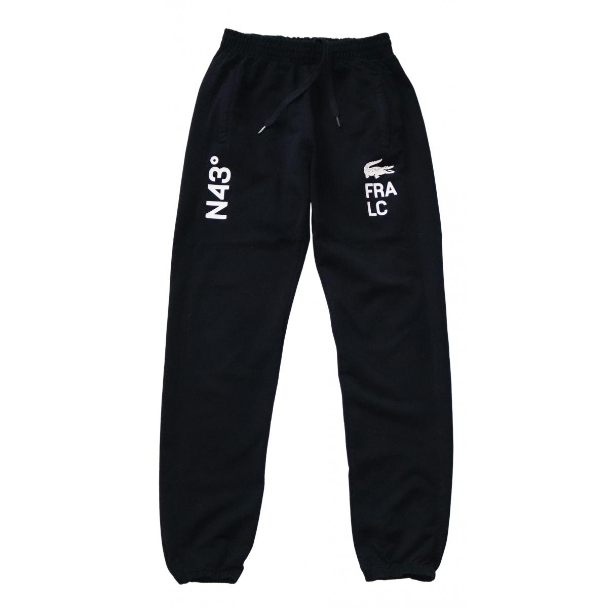 Lacoste \N Navy Cotton Trousers for Men L International
