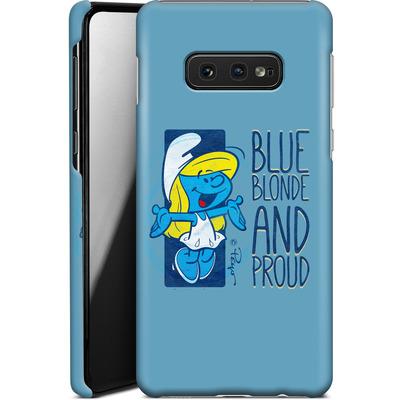 Samsung Galaxy S10e Smartphone Huelle - Blue, Blond and Proud von The Smurfs