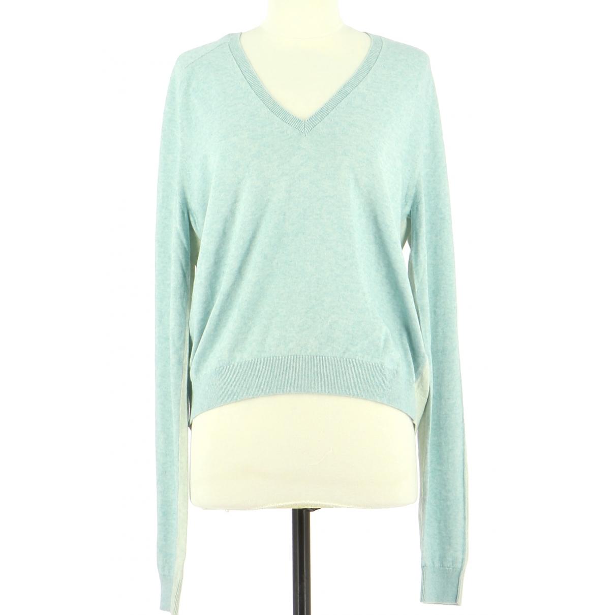 Zadig & Voltaire \N Blue Cotton Knitwear & Sweatshirts for Men 38 UK - US