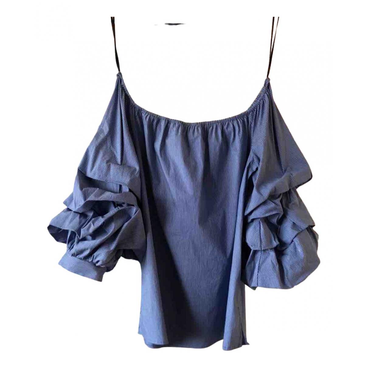 Zara \N Blue Cotton  top for Women XS International
