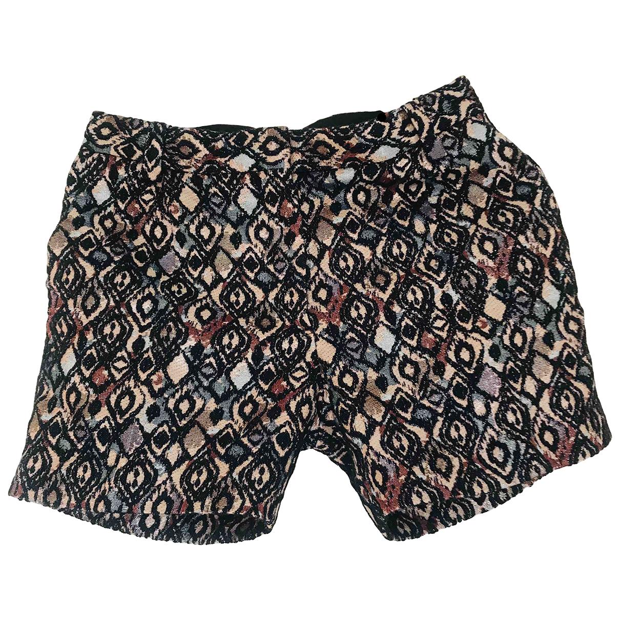 Baum Und Pferdgarten \N Gold Cotton Shorts for Women S International