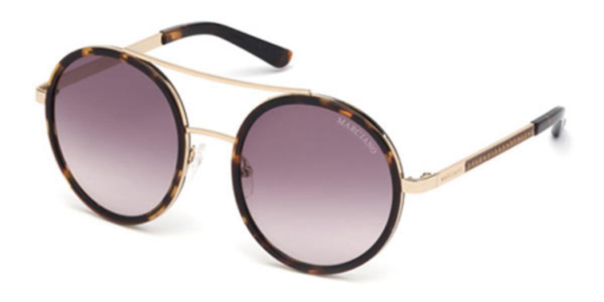 Guess GM 0780 52F Women's Sunglasses Tortoise Size 55