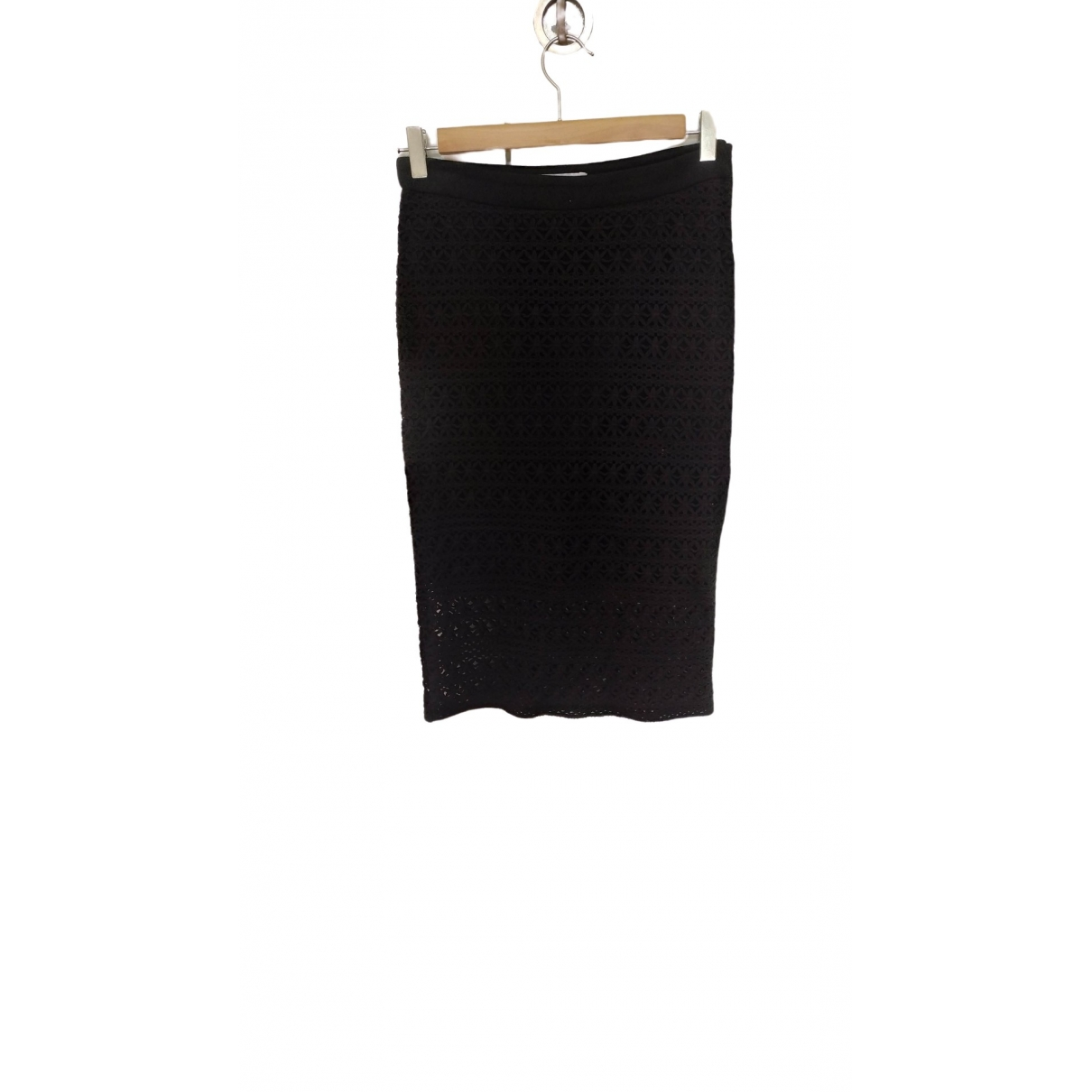 Gat Rimon \N Black Cotton skirt for Women 34 FR