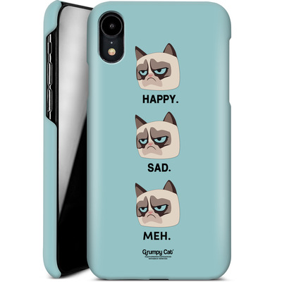 Apple iPhone XR Smartphone Huelle - Facial Expressions von Grumpy Cat