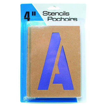 Headline Sign@ Wall Letter Guide - Letter Stickers / Number Stickers / Symbol Stickers - 100mm (4