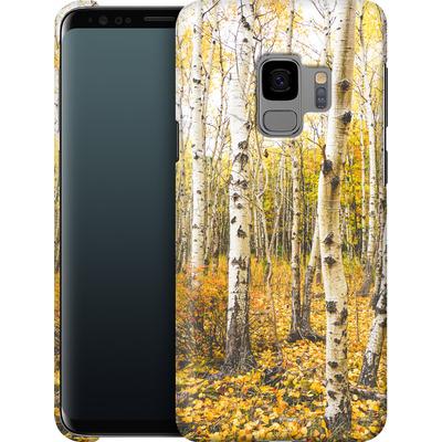 Samsung Galaxy S9 Smartphone Huelle - Fallen Leaves  von Joy StClaire