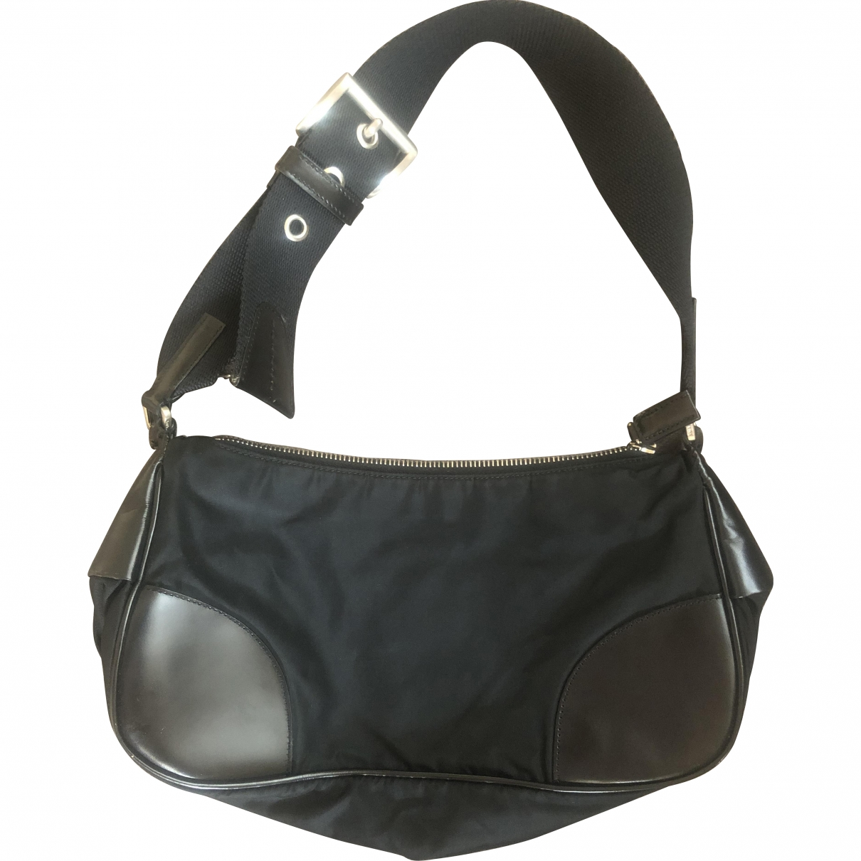 Prada \N Black Cloth Clutch bag for Women \N