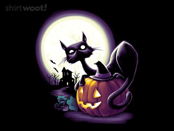 Halloween Tableau T Shirt