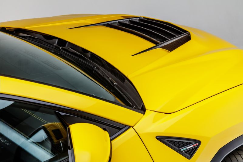 Vorsteiner 2010LOV UX-07 Edizione Aero Bonnet Carbon Fiber PP 2X2 Glossy Lamborghini Urus 18-20