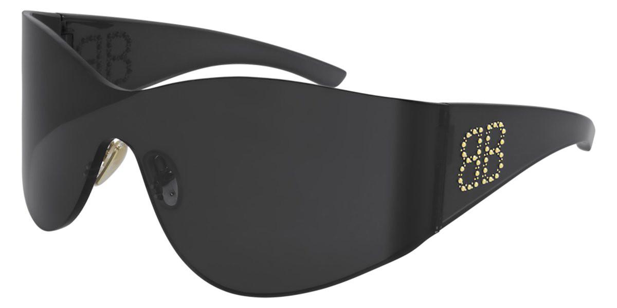 Balenciaga BB0122S 004 Women's Sunglasses Grey Size 99