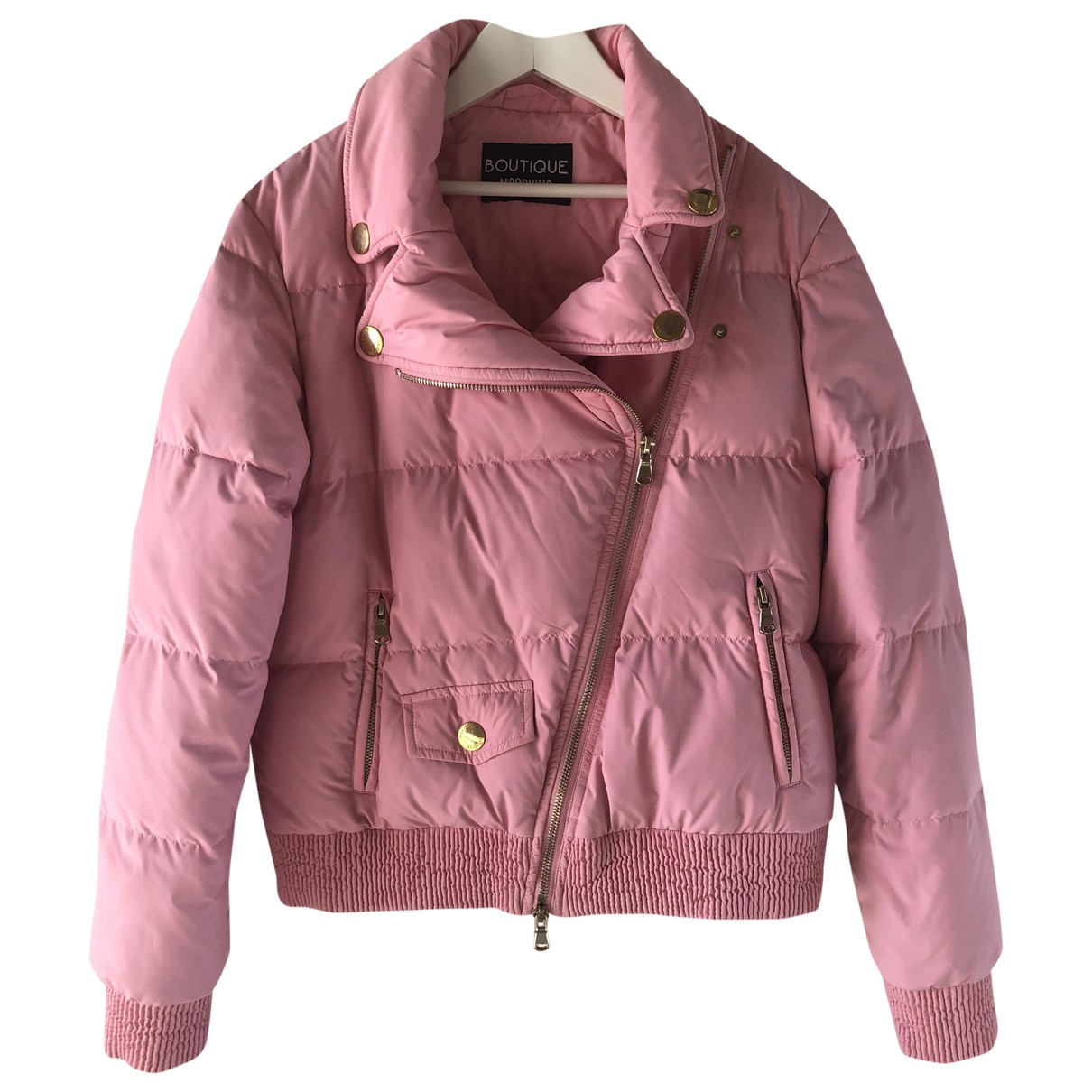 Moschino \N Maentel in  Rosa Polyester