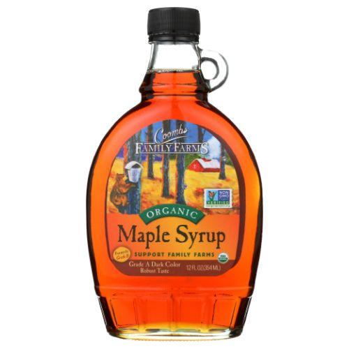 Organic Maple Syrup Grade A 12 Oz by Coombs Family Farms
