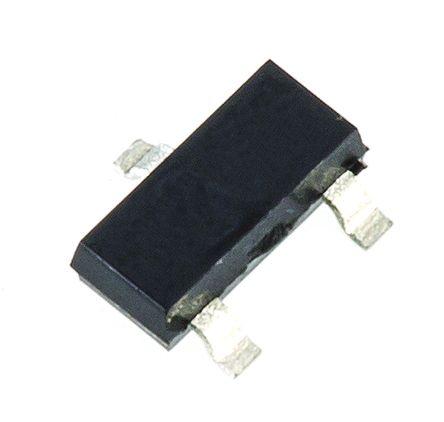 Nexperia BC846B,215 NPN Transistor, 100 mA, 65 V, 3-Pin SOT-23 (50)
