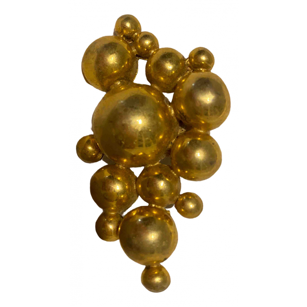 Tom Binns - Bague   pour femme en plaque or - dore