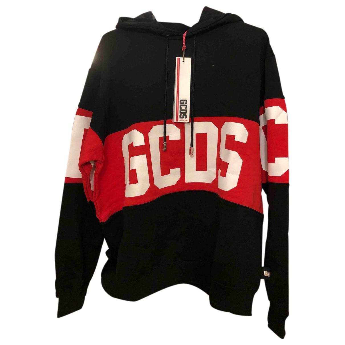 Gcds - Pulls.Gilets.Sweats   pour homme en coton - noir