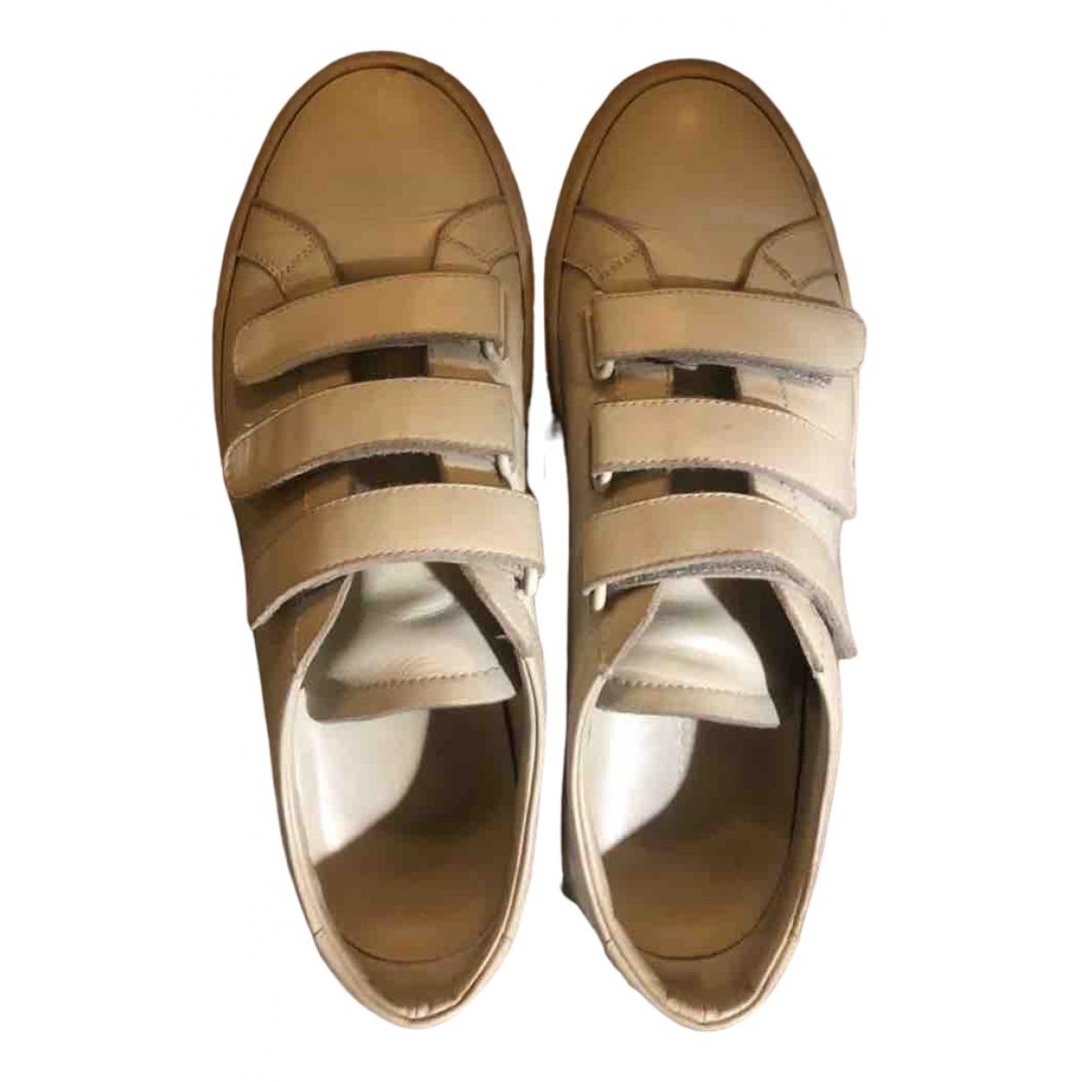 Common Projects - Baskets   pour femme en cuir - ecru