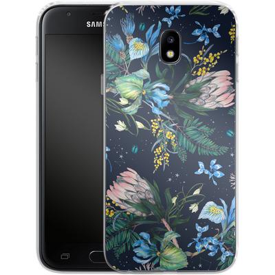 Samsung Galaxy J3 (2017) Silikon Handyhuelle - Celest von Stephanie Breeze