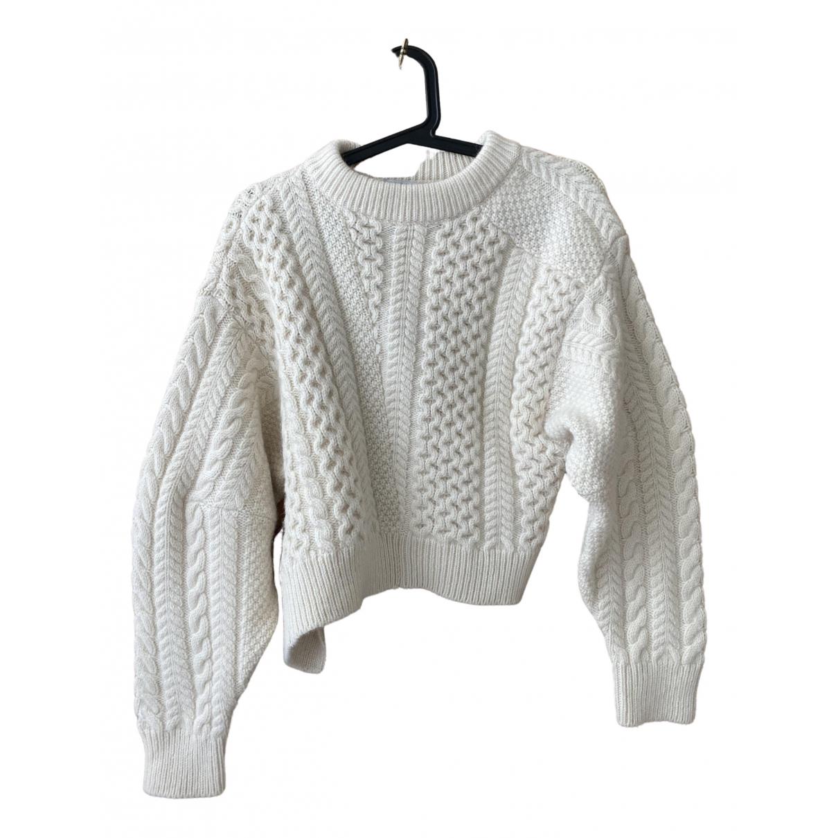 Stella Mccartney N Ecru Wool Knitwear for Women 34 FR
