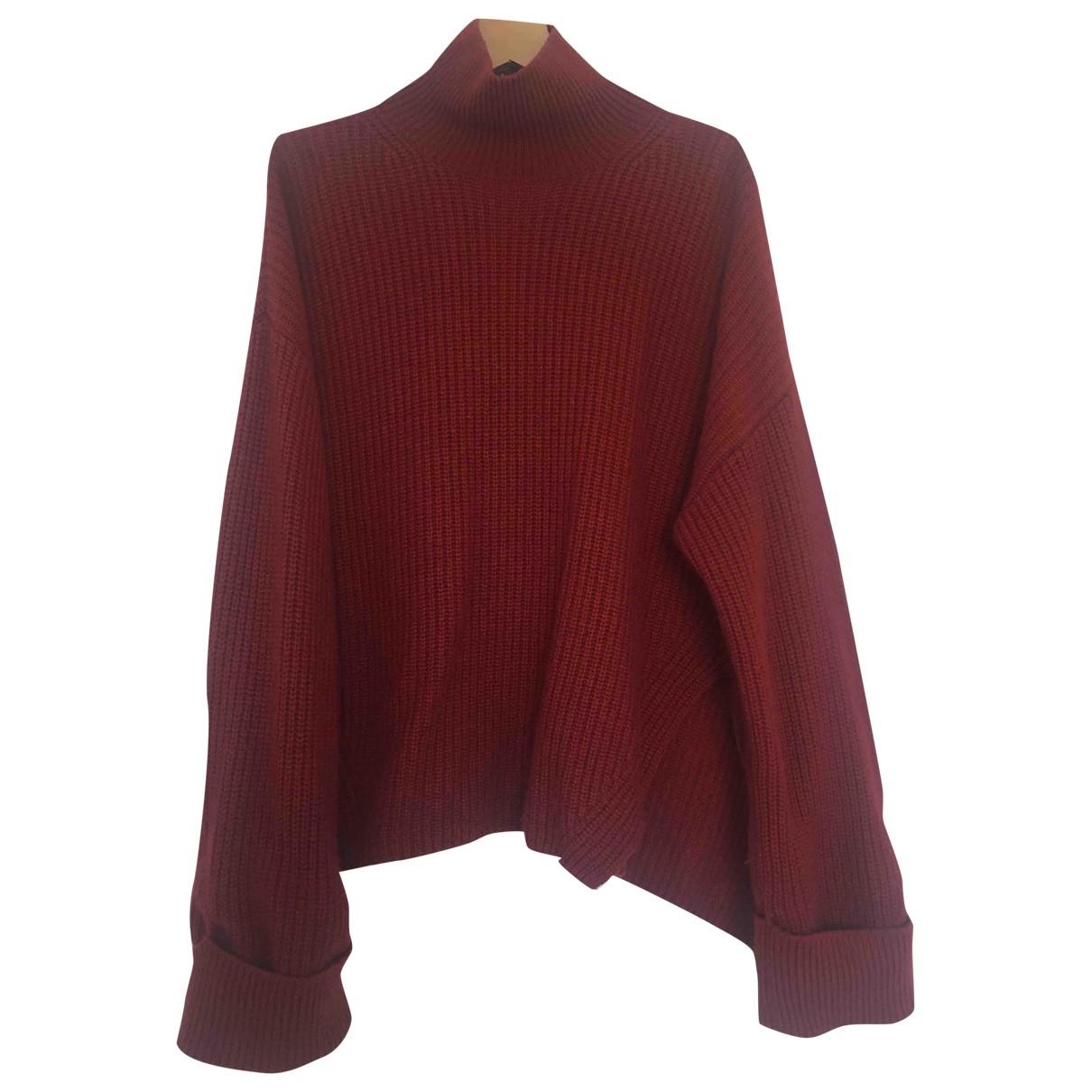 & Stories \N Burgundy Wool Knitwear for Women 38 FR