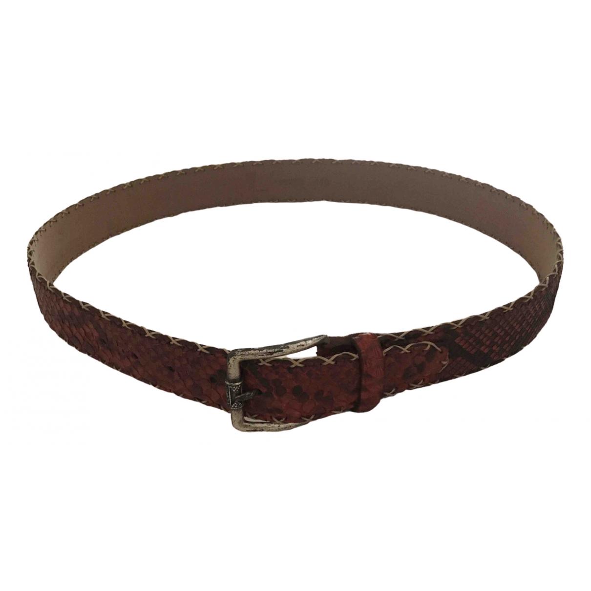 Cinturon de Piton Non Signe / Unsigned