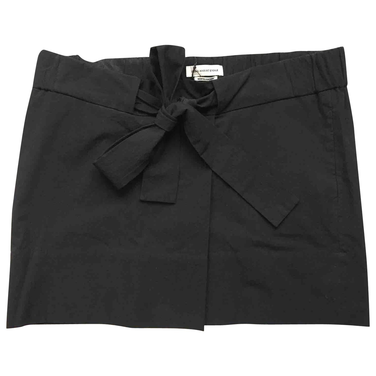 Isabel Marant Etoile \N Black Cotton skirt for Women 40 FR