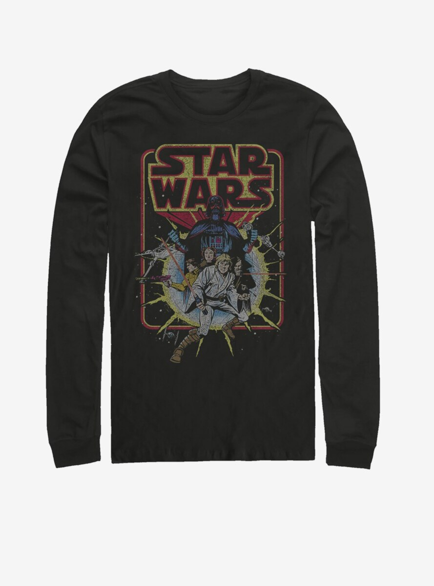 Star Wars Old School Comic Long-Sleeve T-Shirt