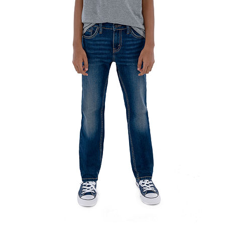 Levi's Performance Big Boys 511 Stretch Slim Fit Jean, 16 , Beige