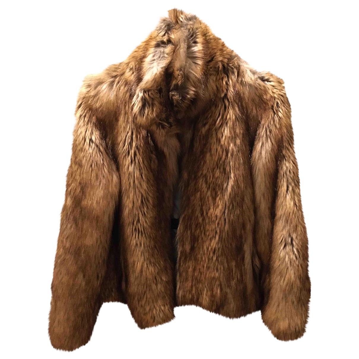 Zadig & Voltaire \N Beige Faux fur jacket for Women 36 FR