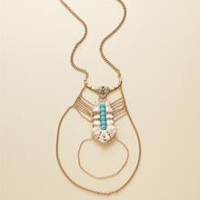Beaded Design Necklace