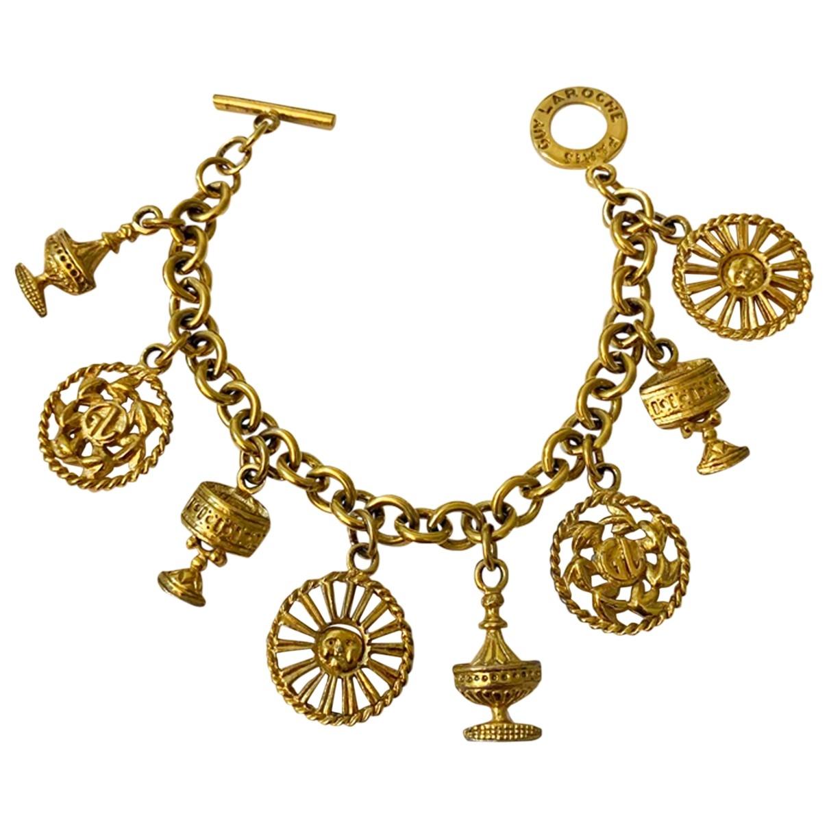 Guy Laroche \N Armband in  Gold Metall
