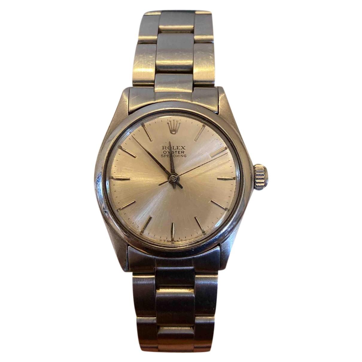 Rolex \N Uhr in  Silber Stahl