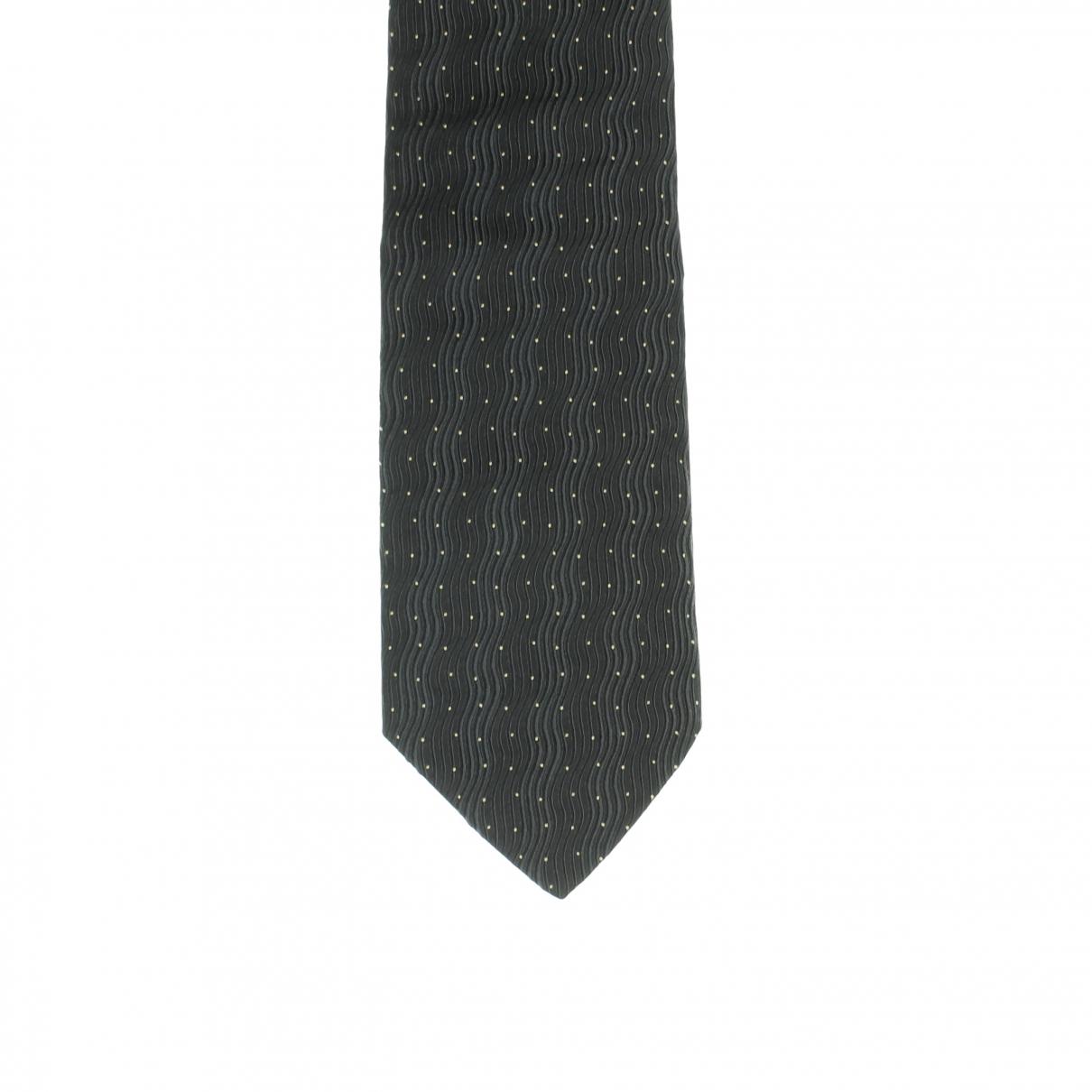 Dolce & Gabbana - Cravates   pour homme en soie - anthracite