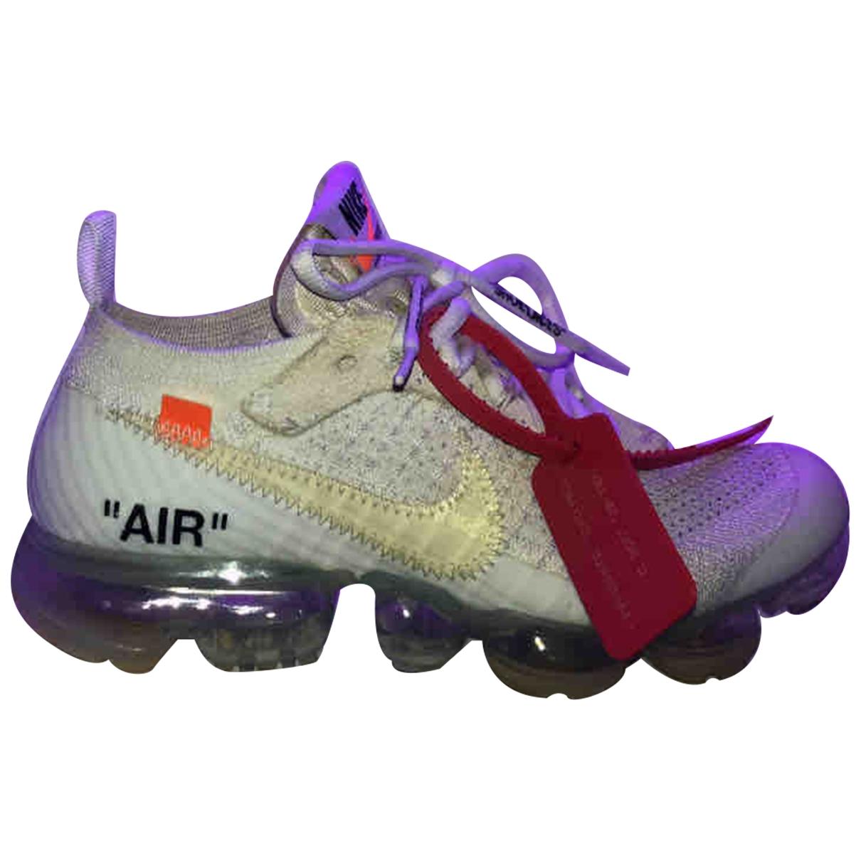 Deportivas Vapormax de Lona Nike X Off-white