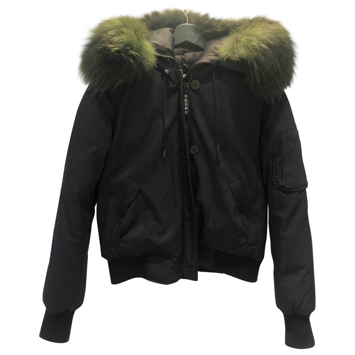 Kenzo \N Anthracite coat for Women 38 FR