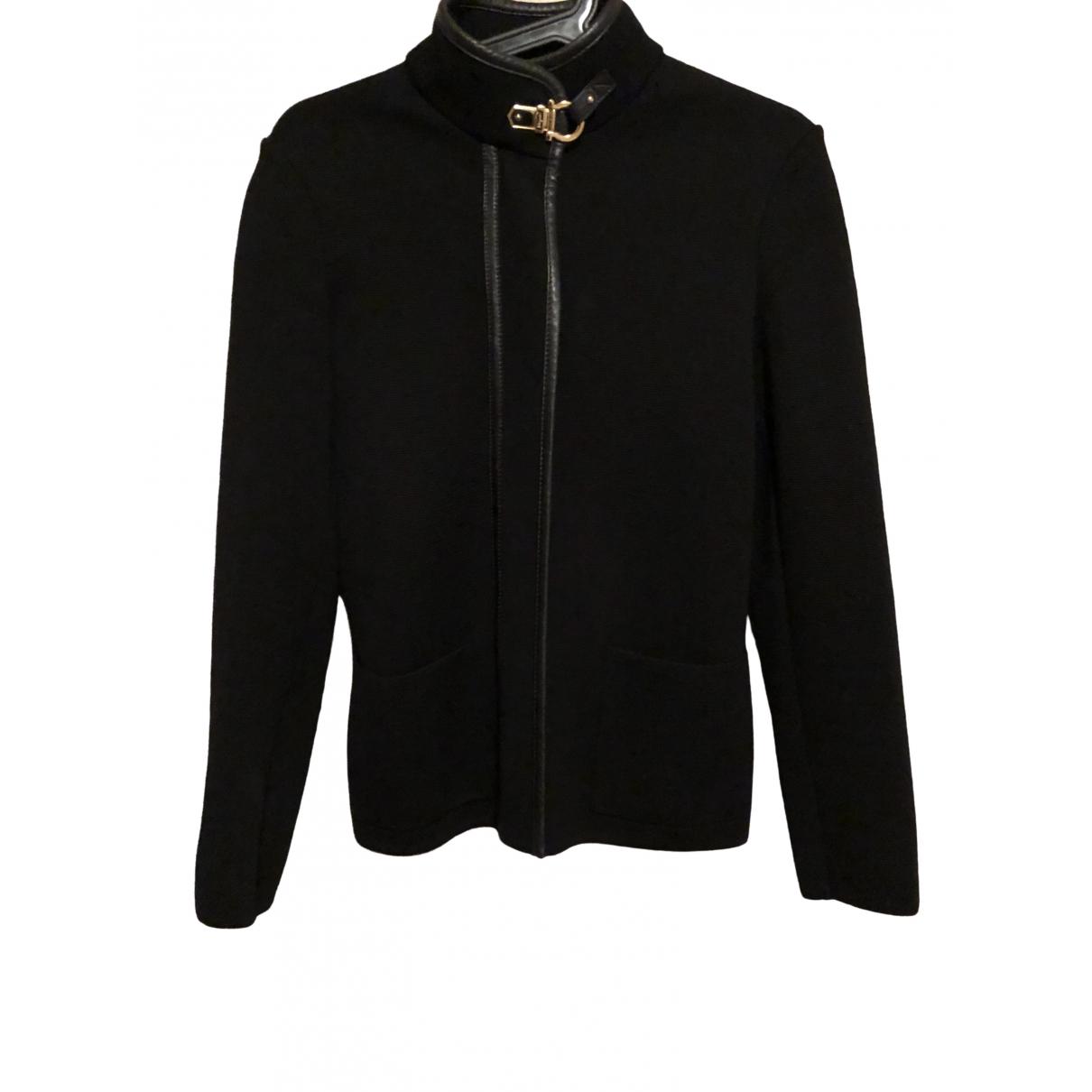 Salvatore Ferragamo \N Black Wool Knitwear for Women S International