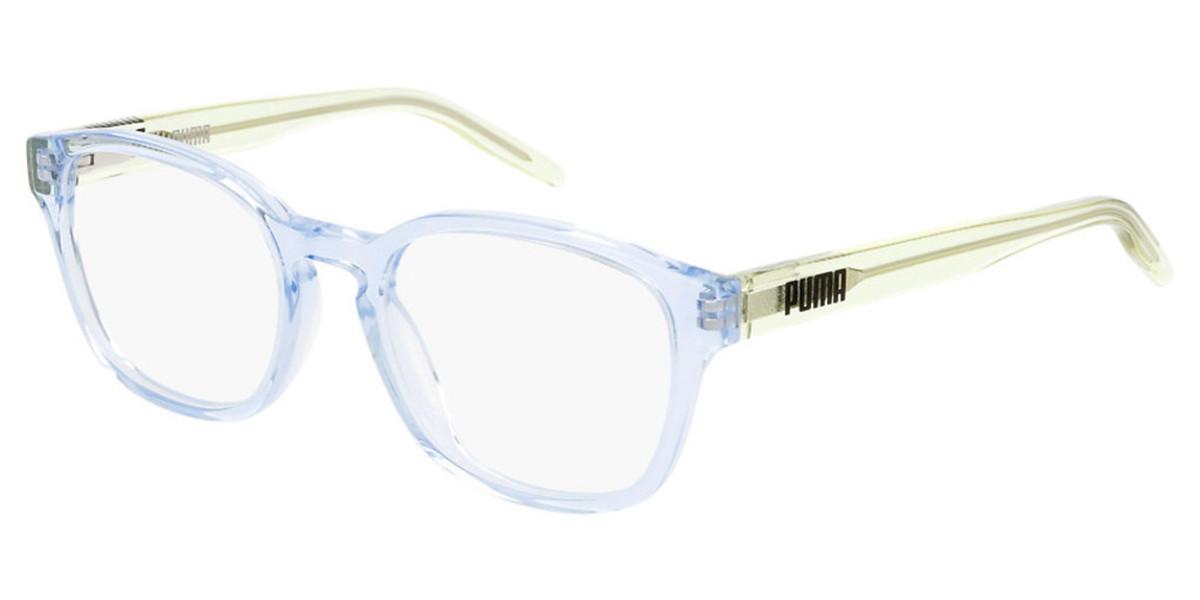 Puma PJ0042O Kids 002 Kids' Glasses Blue Size 47 - Free Lenses - HSA/FSA Insurance - Blue Light Block Available